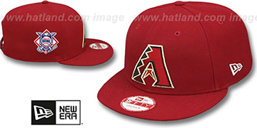 Diamondbacks LEAGUE REPLICA GAME SNAPBACK Hat by New Era