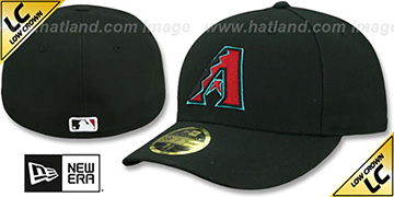 Diamondbacks LOW-CROWN ALTERNATE Fitted Hat by New Era