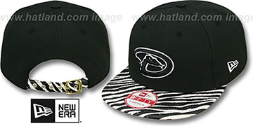 Diamondbacks 'OSTRICH-ZEBRA STRAPBACK' Hat by New Era