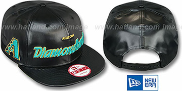Diamondbacks REDUX SNAPBACK Black Hat by New Era