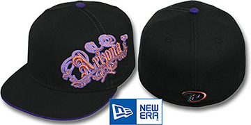 Diamondbacks 'ROYALE OLD ENGLISH' Black Fitted Hat by New Era
