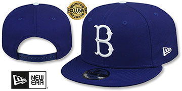 Dodgers 1939-57 COOPERSTOWN REPLICA SNAPBACK Hat by New Era