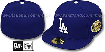 Dodgers 1963 'WORLD SERIES CHAMPS' GAME Hat by New Era