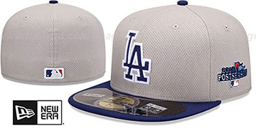 Dodgers '2013 POSTSEASON' DIAMOND-TECH Hat by New Era