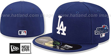 Dodgers '2013 POSTSEASON' GAME Hat by New Era