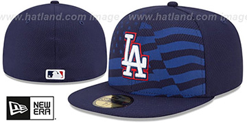 Dodgers '2015 JULY 4TH STARS N STRIPES' Hat by New Era