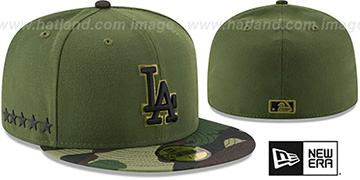Dodgers 2017 MEMORIAL DAY 'STARS N STRIPES' Hat by New Era