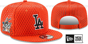 Dodgers '2017 MLB HOME RUN DERBY SNAPBACK' Orange Hat by New Era