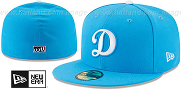 Dodgers 2017 MLB LITTLE-LEAGUE Blue Fitted Hat by New Era