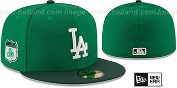 Dodgers '2017 ST PATRICKS DAY' Hat by New Era