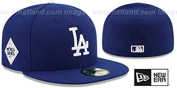 Dodgers 2017 WORLD SERIES GAME Hat by New Era