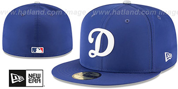 Dodgers '2018 PROLIGHT-BP' Royal Fitted Hat by New Era