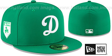 Dodgers 2018 ST PATRICKS DAY Hat by New Era
