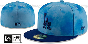 Dodgers 2019 FATHERS DAY Fitted Hat by New Era