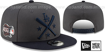 Dodgers 2019 MLB ALL-STAR WORKOUT SNAPBACK Hat by New Era