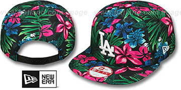 Dodgers 'AMAZON BLOOM SNAPBACK' Hat by New Era