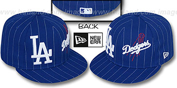 Dodgers 'BIG-ONE DOUBLE WHAMMY' Royal-White Fitted Hat