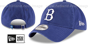 Dodgers 'COOPERSTOWN CORE-CLASSIC STRAPBACK' Royal Hat by New Era