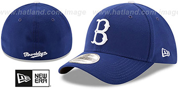 Dodgers COOPERSTOWN 'TEAM-CLASSIC' Royal Flex Hat by New Era