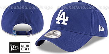 Dodgers 'CORE-CLASSIC STRAPBACK' Royal Hat by New Era
