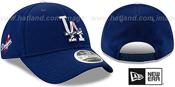Dodgers DASHMARK BP SNAPBACK Royal Hat by New Era