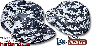 Dodgers DIGITAL URBAN CAMO Fitted Hat by New Era