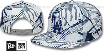 Dodgers 'GEOMET TRICK SNAPBACK' Hat by New Era