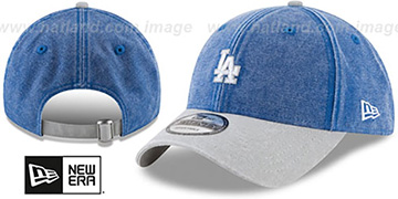 Dodgers GW RUGGED CANVAS STRAPBACK Royal-Grey Hat by New Era