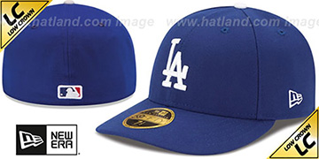 Dodgers '2017 LOW-CROWN ONFIELD GAME' Fitted Hat by New Era