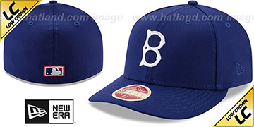 Dodgers 'LOW-CROWN VINTAGE' Fitted Hat by New Era