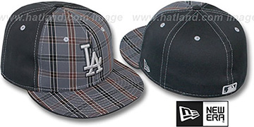 Dodgers 'MacFADYEN' Grey Fitted Hat by New Era