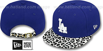 Dodgers 'OSTRICH-LEOPARD STRAPBACK' Hat by New Era