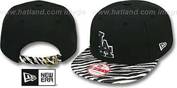 Dodgers OSTRICH-ZEBRA STRAPBACK Hat by New Era