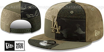 Dodgers PATCHWORK PREMIUM SNAPBACK Hat by New Era
