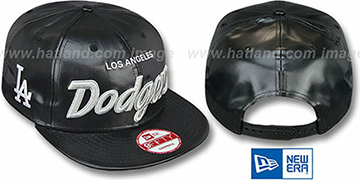 Dodgers REDUX SNAPBACK Black Hat by New Era