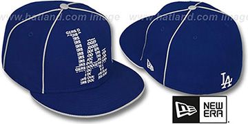 Dodgers REPEAT BIG-ONE Royal Fitted Hat by New Era