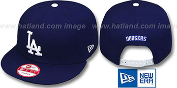Dodgers REPLICA GAME SNAPBACK Hat by New Era