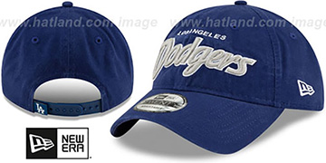 Dodgers RETRO-SCRIPT SNAPBACK Royal Hat by New Era