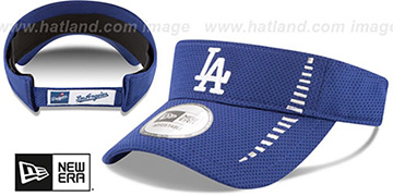 Dodgers 'SPEED-VISOR' Royal by New Era