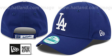 Dodgers THE-LEAGUE GAME STRAPBACK Royal Hat by New Era