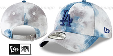 Dodgers TIE-DYE STRAPBACK Hat by New Era