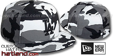 Dodgers 'URBAN CAMO' Fitted Hat by New Era