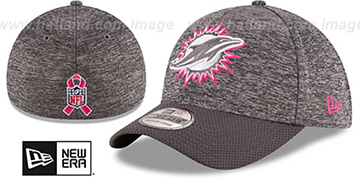 Dolphins 2016 BCA FLEX Grey-Grey Hat by New Era