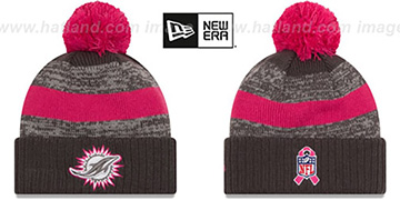 Dolphins 2016 BCA STADIUM Knit Beanie Hat by New Era