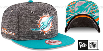 Dolphins '2016 NFL DRAFT SNAPBACK' Hat by New Era