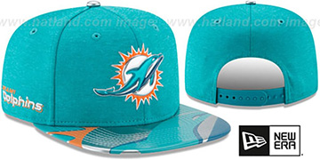 Dolphins '2017 NFL ONSTAGE SNAPBACK' Hat by New Era