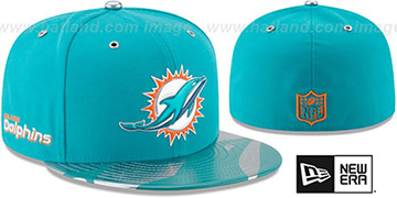 Dolphins '2017 SPOTLIGHT' Fitted Hat by New Era