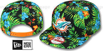 Dolphins 'BLOOM SNAPBACK' Hat by New Era
