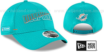 Dolphins COACHES TRAINING SNAPBACK Hat by New Era