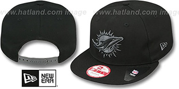 Dolphins 'FADEOUT SNAPBACK' Black-Grey Hat by New Era